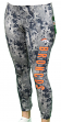 "Denver Broncos Women's NFL ""Vortex"" Leggings Yoga Pants"