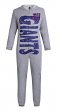 "New York Giants NFL ""Fandom"" Unisex Fleece Union Suit"