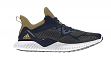 Adidas Men's Alphabounce Running Shoe - Navy/Gold