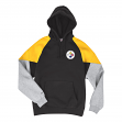Pittsburgh Steelers Mitchell & Ness NFL Trading Block Pullover Hooded Sweatshirt