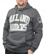 "Oakland Raiders Mitchell & Ness NFL ""Playoff Win"" Pullover Hooded Sweatshirt"