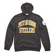 "Pittsburgh Steelers Mitchell & Ness NFL ""Playoff Win"" Pullover Hooded Sweatshirt"