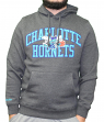 "Charlotte Hornets Mitchell & Ness NBA ""Playoff Win"" Pullover Hooded Sweatshirt"