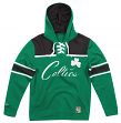 "Boston Celtics Mitchell & Ness NBA ""Skate Lace"" Pullover Hooded Sweatshirt"