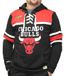 "Chicago Bulls Mitchell & Ness NBA ""Skate Lace"" Pullover Hooded Sweatshirt"