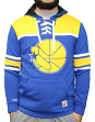 Golden State Warriors Mitchell & Ness NBA Skate Lace Pullover Hooded Sweatshirt