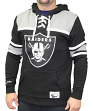 "Oakland Raiders Mitchell & Ness NFL ""Skate Lace"" Pullover Hooded Sweatshirt"