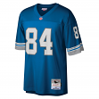 Herman Moore Detroit Lions NFL Mitchell & Ness Throwback Premier Blue Jersey
