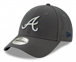 "Atlanta Braves New Era 9Forty MLB ""The League Graphite"" Adjustable Hat"