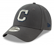 "Cleveland Indians New Era 9Forty MLB ""The League Graphite"" Adjustable Hat"
