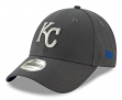 "Kansas City Royals New Era 9Forty MLB ""The League Graphite"" Adjustable Hat"