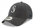 "Seattle Mariners New Era 9Forty MLB ""The League Graphite"" Adjustable Hat"