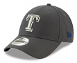"""Texas Rangers New Era 9Forty MLB """"The League Graphite"""" Adjustable Hat"""