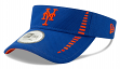 "New York Mets New Era MLB ""Speed DE"" Performance Adjustable Visor"