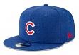 "Chicago Cubs New Era 9FIFTY MLB ""Heather Hype"" Snapback Hat"