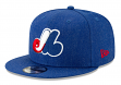 """Montreal Expos New Era 9FIFTY MLB """"Cooperstown Heather Hype"""" Snapback Hat"""