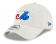 Montreal Expos New Era MLB Cooperstown Core Classic Stone Adjustable Hat