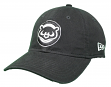 Chicago Cubs New Era Cooperstown Twill Core Classic Adjustable Black Hat - 1984