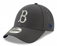 "Brooklyn Dodgers New Era 9Forty MLB Cooperstown ""The League Graphite"" Hat"