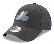 """Montreal Expos New Era 9Forty MLB Cooperstown """"The League Graphite"""" Hat"""