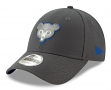 """Chicago Cubs New Era 9Forty MLB Cooperstown """"The League Graphite"""" Hat - 1984"""