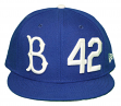 "Brooklyn Dodgers New Era 9FIFTY Cooperstown ""Jackie Robinson"" Hat - Light Royal"