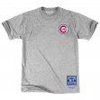 "Chicago Cubs Mitchell & Ness MLB Men's ""First Letter"" Short Sleeve T-Shirt"