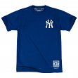 "New York Yankees Mitchell & Ness MLB Men's ""First Letter"" Short Sleeve T-Shirt"