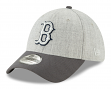 "Boston Red Sox New Era MLB 39THIRTY ""Change Up Redux"" Flex Fit Hat - Gray"