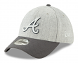 "Atlanta Braves New Era MLB 39THIRTY ""Change Up Redux"" Flex Fit Hat - Gray"
