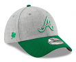 "Atlanta Braves New Era MLB 39THIRTY St. Patrick's ""Change Up Redux 2"" Hat"