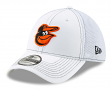 "Baltimore Orioles New Era MLB 39THIRTY ""White Team Neo"" Flex Fit Hat"