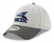 """Chicago White Sox New Era 39THIRTY """"Cooperstown Change Up Redux"""" Gray Hat"""