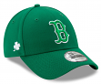 Boston Red Sox New Era 9Forty MLB The League St. Patrick's Day Adjustable Hat