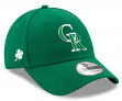 Colorado Rockies New Era 9Forty MLB The League St. Patrick's Day Adjustable Hat