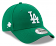 Los Angeles Dodgers New Era 9Forty MLB League St. Patrick's Day Adjustable Hat
