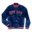 "Boston Red Sox Mitchell & Ness MLB Men's ""Big Time"" Lightweight Satin Jacket"