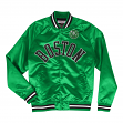 "Boston Celtics Mitchell & Ness NBA ""Big Time"" Lightweight Satin Jacket"