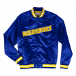 "Golden State Warriors Mitchell & Ness Men's ""Big Time"" Lightweight Satin Jacket"