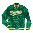 Seattle Supersonics Mitchell & Ness NBA Men's Big Time Lightweight Satin Jacket