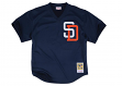 Tony Gwynn San Diego Padres Mitchell & Ness Men's Authentic 1996 BP Jersey