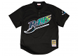 Wade Boggs Tampa Bay Devil Rays Mitchell & Ness Men's Authentic 1998 BP Jersey