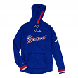 "Atlanta Braves Mitchell & Ness MLB Men's ""Leader"" Lightweight Hooded Shirt"