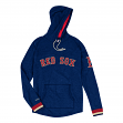 "Boston Red Sox Mitchell & Ness MLB Men's ""Leader"" Lightweight Hooded Shirt"