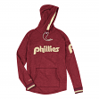 "Philadelphia Phillies Mitchell & Ness ""Leader"" Lightweight Hooded Red Shirt"