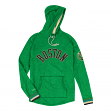 "Boston Celtics Mitchell & Ness NBA Men's ""Leader"" Lightweight Hooded Shirt"
