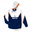 Houston Astros Mitchell & Ness MLB Men's Anorak Half Zip Pullover Jacket