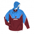 Philadelphia Phillies Mitchell & Ness MLB Men's Anorak Half Zip Pullover Jacket
