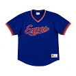 "Montreal Expos Mitchell & Ness MLB Men's ""Dinger"" Mesh Jersey Shirt"