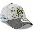 Los Angeles Rams New Era NFL Super Bowl LIII 9FORTY Adjustable Gray Hat